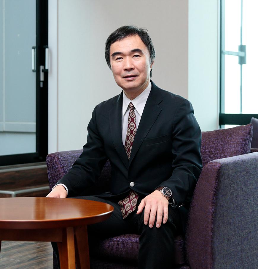 photo:Satoshi Matsuoka, Director, RIKEN CCS