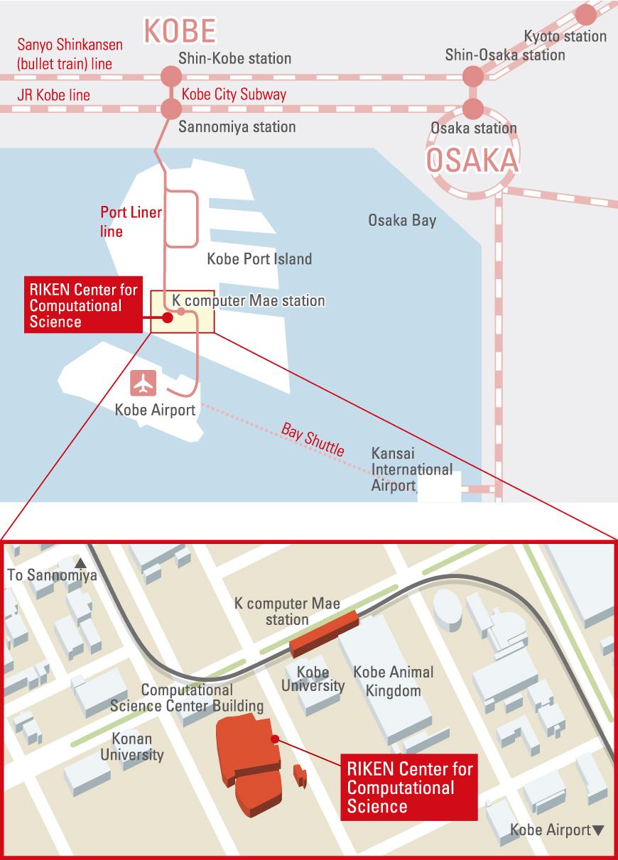 figure: access map
