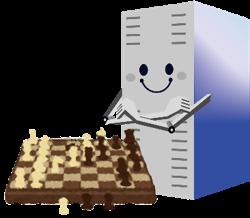 HPL-AIはAIへの適性を測る。チェスで1位のイメージ