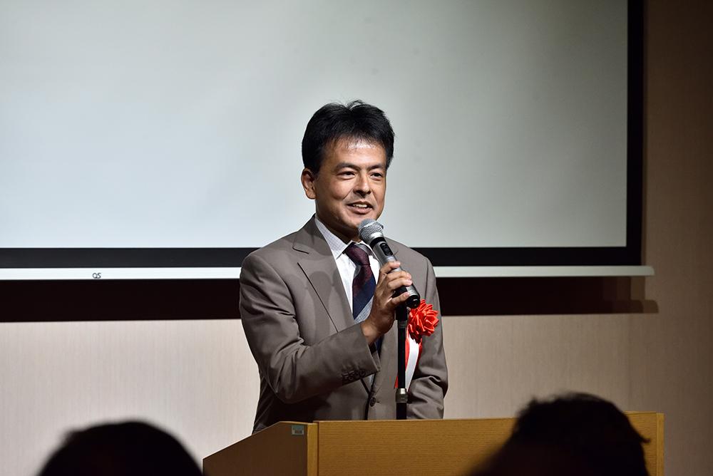 写真:参議院議員 片山大介様 ご挨拶