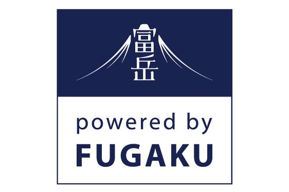 図:powered by FUGAKU ロゴマーク