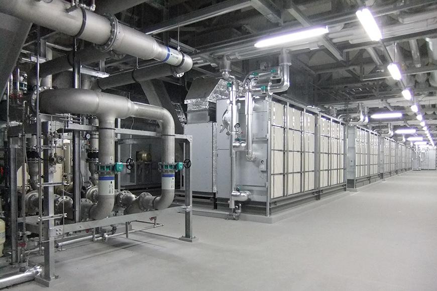 写真:冷却設備の様子