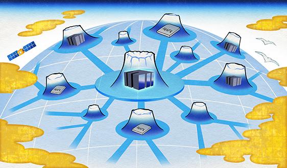図:「富岳」テクノロジーの広がり