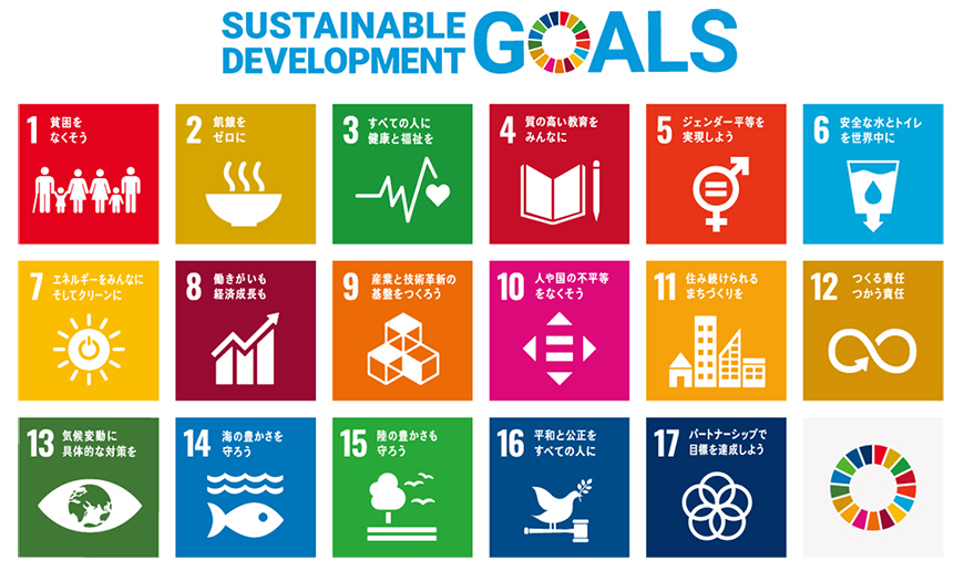 図:Sustainable Development Goals(持続可能な開発目標)