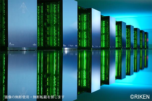 写真:スーパーコンピュータ「富岳」の様子6/画像の無断使用・無断転載を禁じます