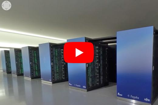 【360°】スーパーコンピュータ「富岳」のある計算機室を見てみよう(解説なし)